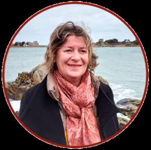 Cécile Hervé, guide accompagnatrice touristique, Plougrescant