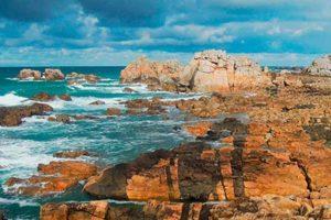 visites guidées : la côte d'ajoncs à vélo électrique